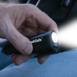 crashsafe led flashlight
