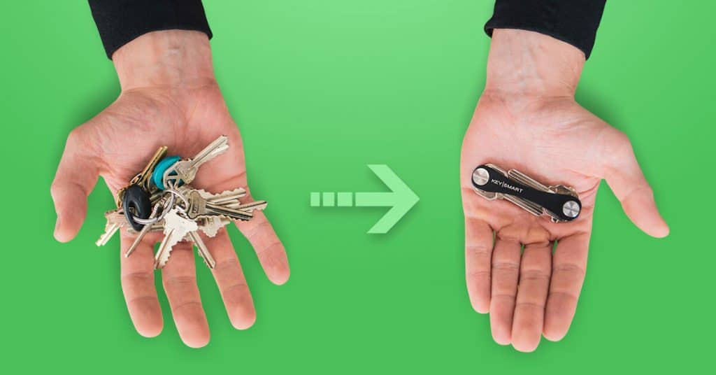 keySmart before and after